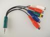 Panasonic Genuine TV AV / Component Adaptor K2KYYYY00206 / K2KYYYY00227