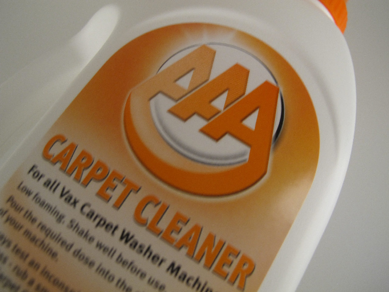 ... 1.5L Bottle of VAX AAA Carpet Cleaner Shampoo Solution Improved Formula ...