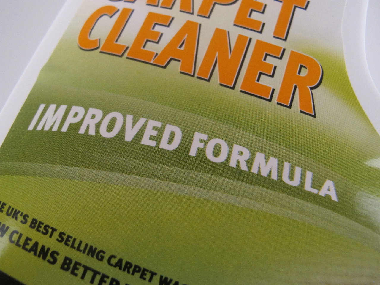 ... 1.5L Bottle of VAX AAA Carpet Cleaner Shampoo Solution Improved Formula