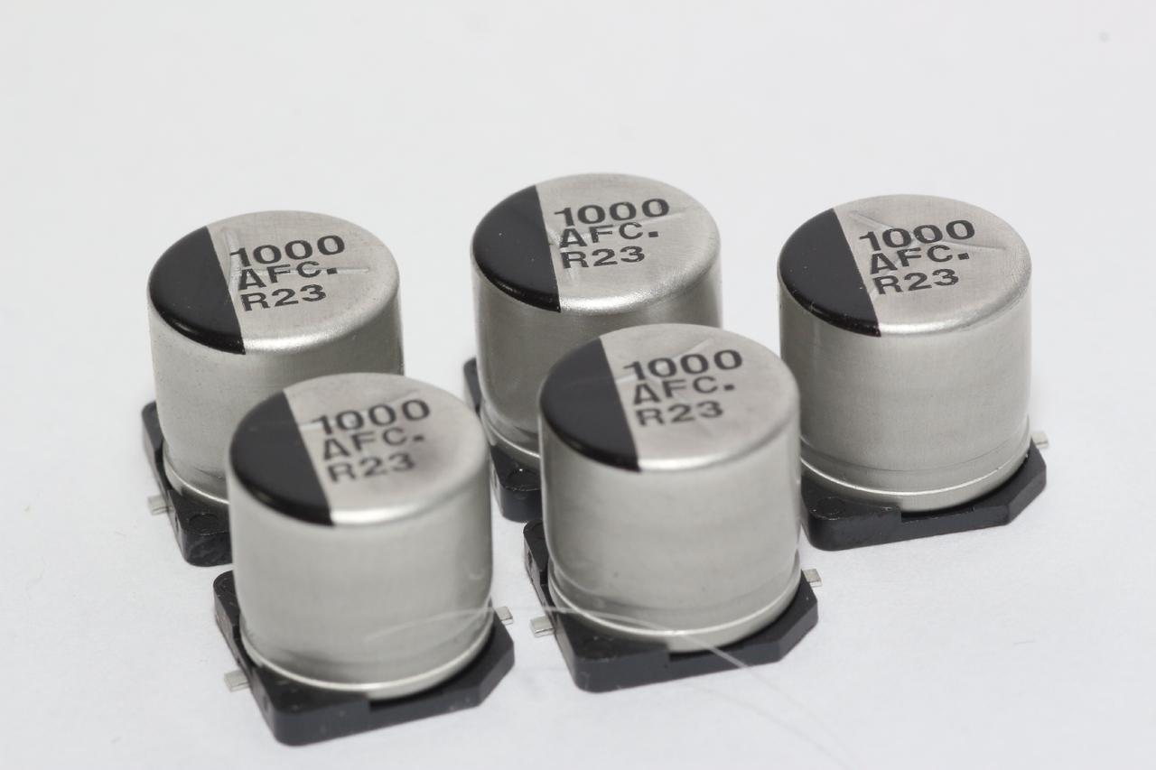 2 pcs PANASONIC Low ESR Kondensator EEUFC1A102 1000uF10V 10x16mm RM5 68mR  #BP