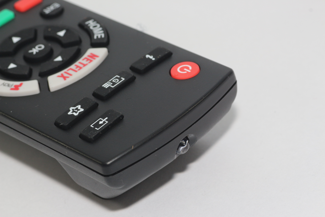 Genuine Panasonic RC42129 30100900 Remote Control with Netflix F play Buttons