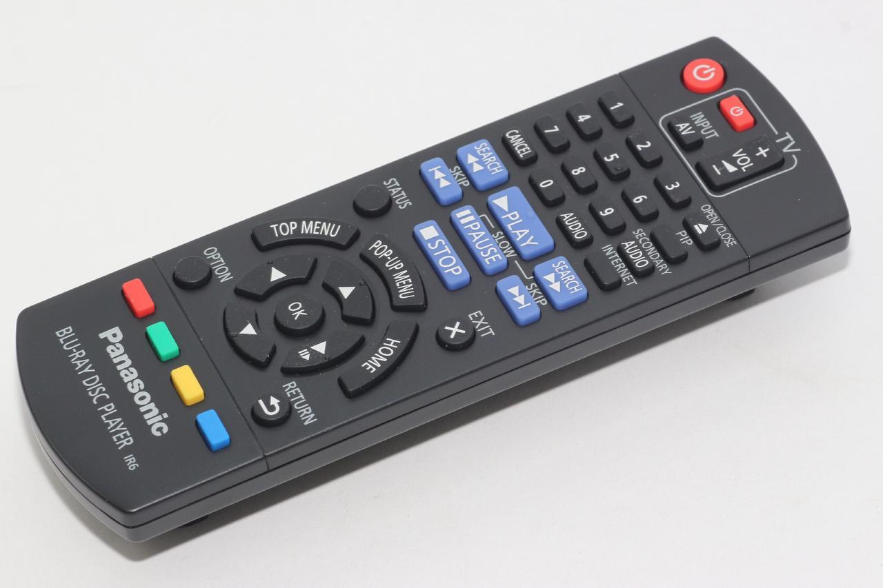 Panasonic Remote Control N2QAYB000956, DMP-BD813, DMP-BD81, DMP-BD160  DMP-BDT260