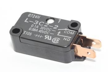 Panasonic Inverter Microwave Door Secondary Latch Switch / Microswitch, L-3C2-2