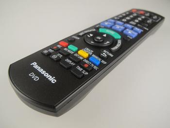 Panasonic Genuine Remote Control N2QAYB000336 Fits DMR-EX72SEGK, DMR-EX72SEGS