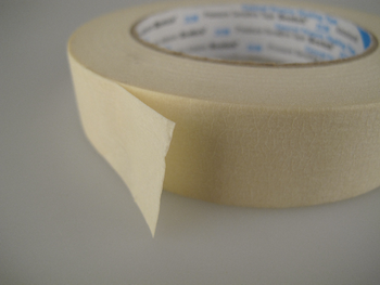 36 x Rolls Of Scotch / 3M 2120 Paper Masking Tape, 25mm x 50m, No Residue