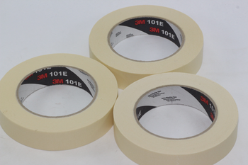 3 x Rolls of Scotch / 3M 2120 / 101E Paper Masking Tape, 25mm x 50m, No Residue