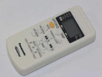 Panasonic Genuine Air Conditioner Remote Control A75C3077 Fits Many Models