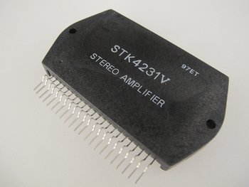 STK4231V - 2 Channel 100W Stereo Audio Power Amplifier IC / STK4201