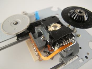 SOHD21U Samsung DVD Laser Assembly, Complete Mechanism Assembly