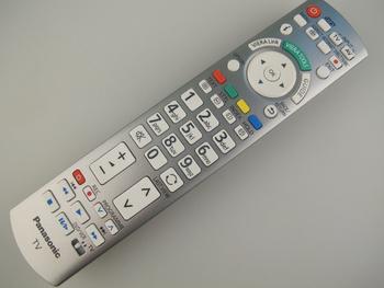 Panasonic N2QAYB000572 Genuine Viera TV Remote Control, Fits Many Models
