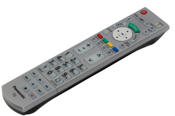 Panasonic Genuine Remote Control N2QAYB000842 Fits Many 3D Smart Models