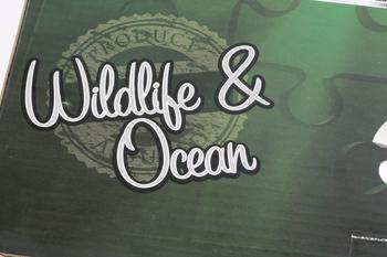 2 x Grafix 1000 Piece Wildlife & Ocean, Lion & Giant Turtle Large Jigsaw Puzzle