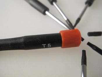 7 Piece Miniature Electronic Torx Screwdriver Set T5, T6, T7, T8, T9, T10, T15