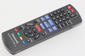 Panasonic Blu Ray DVD Player Remote Control N2QAYB000870, Fits DMP-BD79EB-K