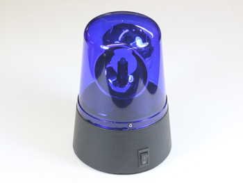 Blue Flashing Rotating Emergency Novelty LED Light For Party and Disco