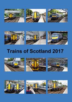 Trains of Scotland Calendar 2017 Front Cover