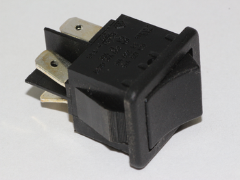 LCD Television TV Mains Power On Off Rocker Switch DPST 4.8mm Terminals