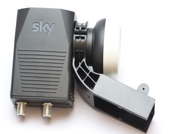 SKY Q Wideband  LNB - Two Port Twin LNB for SKY Q Installations