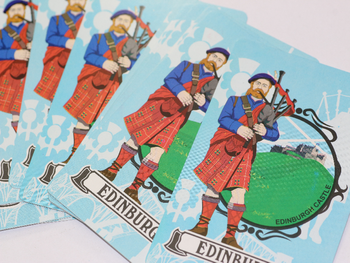 2 x Pack of Edinburgh Castle Souvenir Playing Cards, 52 Cards & 2 Jokers