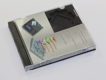 Memory Card Case, CD Jewel Box Size Supports 6 Different Memory Card Types