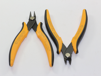 2 x Piergiacomi Electronic Wire / Cable Side Snips Cutters Quality Italian Made
