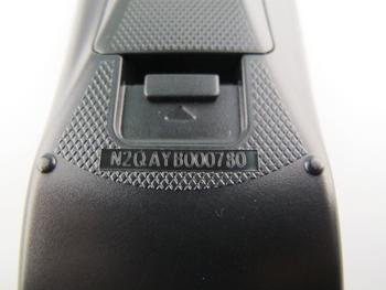 Panasonic N2QAYB000764 / N2QAYB000780  Genuine DVD BluRay Remote Control