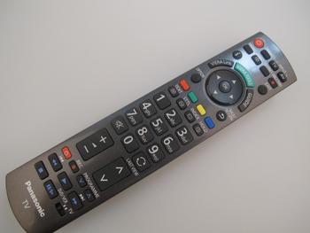 Panasonic Original Viera Remote Control N2QAYB000672 / N2QAYB000490