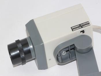 Konig Motorised Motion Detection Dummy CCTV Camera, Flashing LED & Wall Bracket