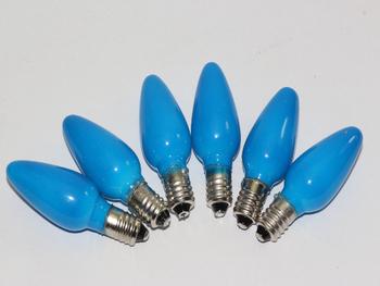 6 x 20V 3W 0.15A E10 Blue Christmas Light Spare Bulb Lamp Pifco Dencon 784