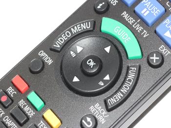 Panasonic N2QAYB001058 Genuine HDD DVD Remote Control for DMR-BWT850EB & More