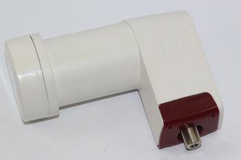 40mm Extended Long Neck Inverto Red Single LNB, Low 0.3dB Noise Figure, HDTV, 4K
