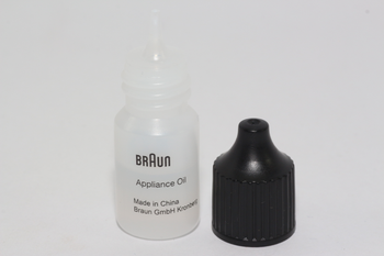 Braun Genuine Shaver Lubricating Oil, 5ml Bottle For Shavers, Clippers, Timmers