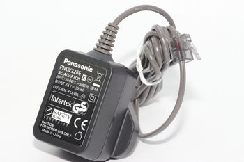 Genuine Panasonic PNLV226E, PNLV226EKX Cordless Telephone Charger 5.5V DC 500mA