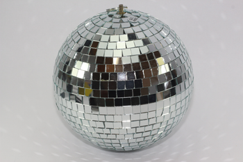 Konig 20cm / 8 Inch 1kg Silver Hanging Mirror Ball For Disco and Party