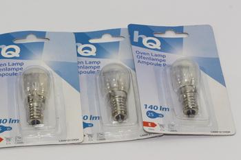 3 x HQ 25W E14 SES High Temperature Small Screw In Oven Lamp Bulb 220-240V AC