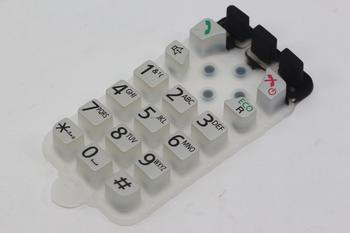 Panasonic PNJK1072Z Cordless Telephone Keypad Membrane Switch KXTG6502, KXTG6522