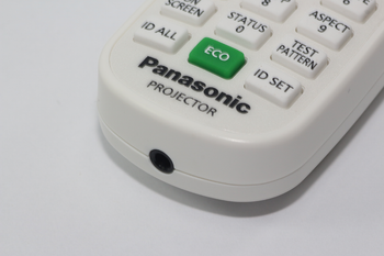 Panasonic Genuine N2QAYA000126 DLP Projector Remote Control For PT-RZ570
