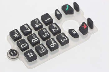 Panasonic PNJK1049X Cordless Telephone Keypad Membrane Switch KXTGP500, KXTGP550