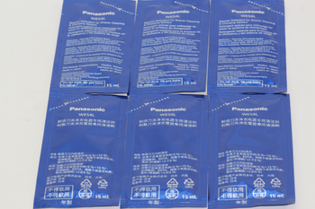 Panasonic WES4L03-803 Pack of 6 Special Detergent For Electric Shavers ES-LV95