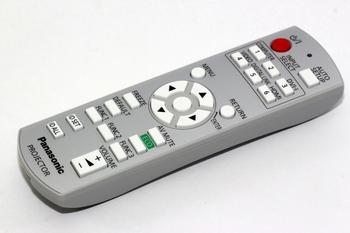 Panasonic Genuine N2QAYB000812 DLP Projector Remote Control For PT-RW330