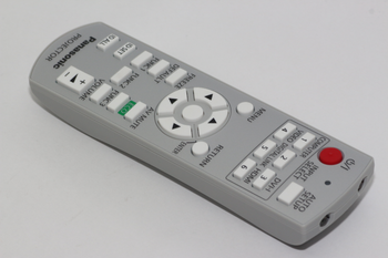 Panasonic Genuine N2QAYB000812 DLP Projector Remote Control For PT-RW330