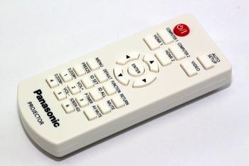 Panasonic Genuine N2QAYA000183 LCD Projector Remote Control, PT-VW530, PT-VZ470