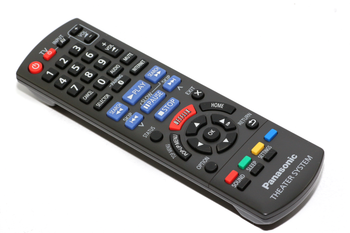 Panasonic N2QAYB000968 DVD Blu Ray Stereo System Remote Control For SC-BTT405