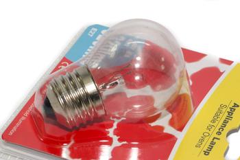 40W E27 ES Round Globe Type Round Special Purpose Oven Lamp Bulb 27mm Thread