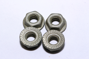 2 x M6 x 50mm U Bolts With 4 x M6 Flange Nuts - Zinc Plated For Zone 2 Dish