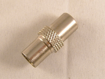 4 x Twist On Screw On SinglePiece Male Coax Aerial Plug Easy Fit