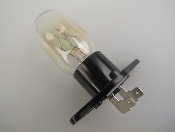 Panasonic 240V 25W Microwave Oven Lamp E610T5D00BP, Right Angled Terminals
