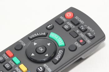 Panasonic N2QAYB000487 Genuine Viera TV Remote Control, Fits Many Models