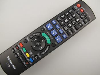 Panasonic N2QAYB000462 DVD Remote Control DMR-EX773EB-K DMR-EX83EB-K, DMR-EX86EB