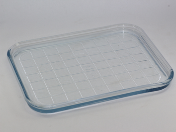 Panasonic Rectangular Pyrex Glass Microwave Oven Tray Z07496Y40BP For NN-CF750